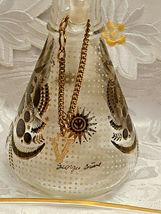 RARE 1950's Georges Briard Sonata Dove Rectangle Glass Tray & Cruets V&O image 3