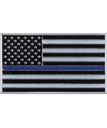 """Thin Blue Line US Flag Lapel Pin Law Enforcement Support the Police 3/4""""... - $5.99"""