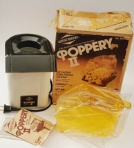 Vintage 80's West Bend Poppery II Hot Air Corn Popper 82102 Popcorn - $42.57