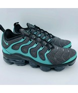 Nike Air VaporMax Plus Black Clear Emerald Size 10 924453-013 - $120.00