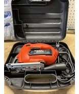 Black & Decker JS500 Corded Jig Saw Variable Speed 4 Amp With Case & Blades - $23.76