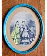 GODEY'S AMERICANIZED PARIS FASHIONS Framed -1851 - $19.99