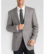 Kenneth Cole Reaction Mens Blazer Sz 40L Long Grey White Multi Business ... - $97.90