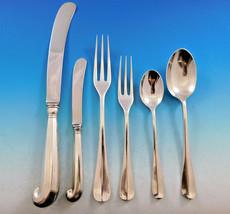 Queen Anne Williamsburg by Stieff Sterling Silver Flatware Set 12 Dinner 74 pcs  - $6,250.00