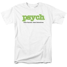 Psych t-shirt Fake Psychic Real Detective comedy TV series graphic tee NBC589 image 1