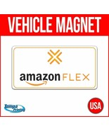 AMAZON FLEX Heavy Duty Vehicle Magnet Truck Car Sticker Decal Sign DELIVERY - $17.09+