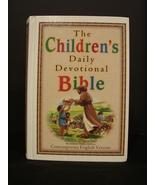 Children's Daily Devotional Bible by Robert J Morgan New Hardcover - $7.90