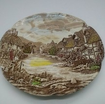 """Vintage Johnson Bros Old English Countryside 10"""" Dinner Plate - $9.49"""
