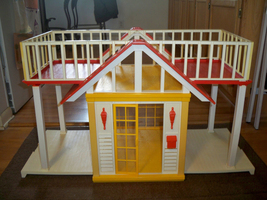 Vintage Barbie Dream Cottage Original Box NO FURNITURE used 1982 READ al... - $159.99