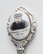 Collector Souvenir Spoon Sir Winston Churchill 1874 - 1965 - $6.99