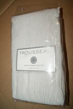Martha Stewart Trousseau Serenade Euro Pillow Sham Silver New - $18.99