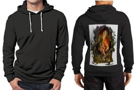 Hawk Vs Snake Clans Z Hoodie Men Black - $48.99+
