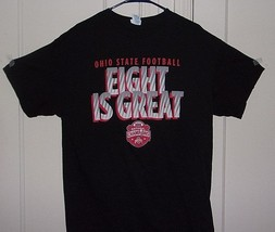 Delta Mens XL 100% Cotton Ohio State Football Eight is Great 2014 Champi... - $11.66