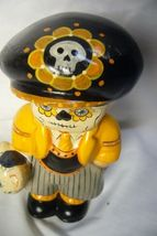 Vaillancourt Folk Art Day of the Dead Boy Personally signed by Judi! image 3