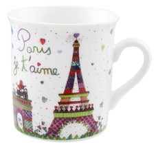 Disney Parks Epcot France Paris Je T' Aime Tower Eiffel Mini Mug New - $12.93