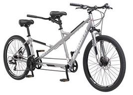 "Schwinn Twinn Tandem 26"" Wheel Bicycle, Grey, One Frame Size 20"" - €495,17 EUR"