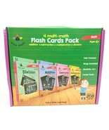 Star Right Age 6 Math Flashcards Addition Subtraction Multiplication Div... - $14.83