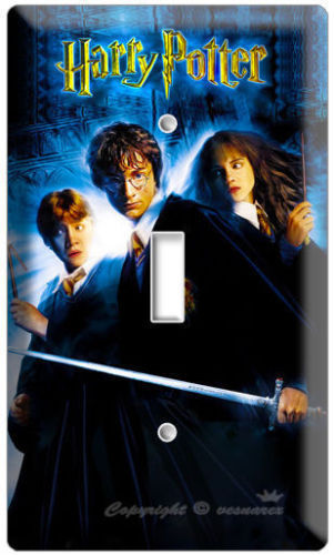 Primary image for HARRY POTTER EMMA WATSON SINGLE LIGHT SWITCH PLATE FAN ROOM WALL ART DECORATION