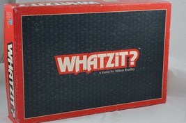 Vintage Whatzit? 1987 A Game by Milton Bradley 100% Complete Rebus - $14.03
