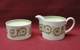 WEDGWOOD China by SUSIE COOPER - VENETIA Pattern - CREAMER & OPEN SUGAR ... - $29.35