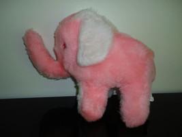 Vintage Canada Best Made Toys Pink Elephant Plush Rare - $120.15