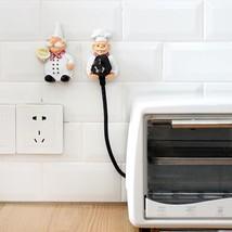 2pcs Plug Self Adhesive Wall Hook Holder Socket Power Organizer Decor Be... - $19.43 CAD