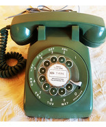 ITT Rotary Dial Model SC500D Table Telephone Circa 1950's - $195.00