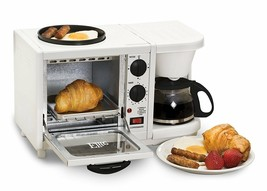 Countertop Multifunction 500 Watts Oven Toaster Griddle Coffee Maker BRA... - $62.42