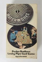 Vintage Waterworks (1972 Parker Brothers) - The Leaky Pipe Family Card Game - $14.01