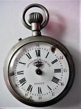 Antique Systeme Roskopf Pocket Watch Parts or repair - $29.00