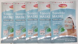 Schaebens Green Clay face mask- Pack of 5 pouches FREE SHIPPING - $10.88