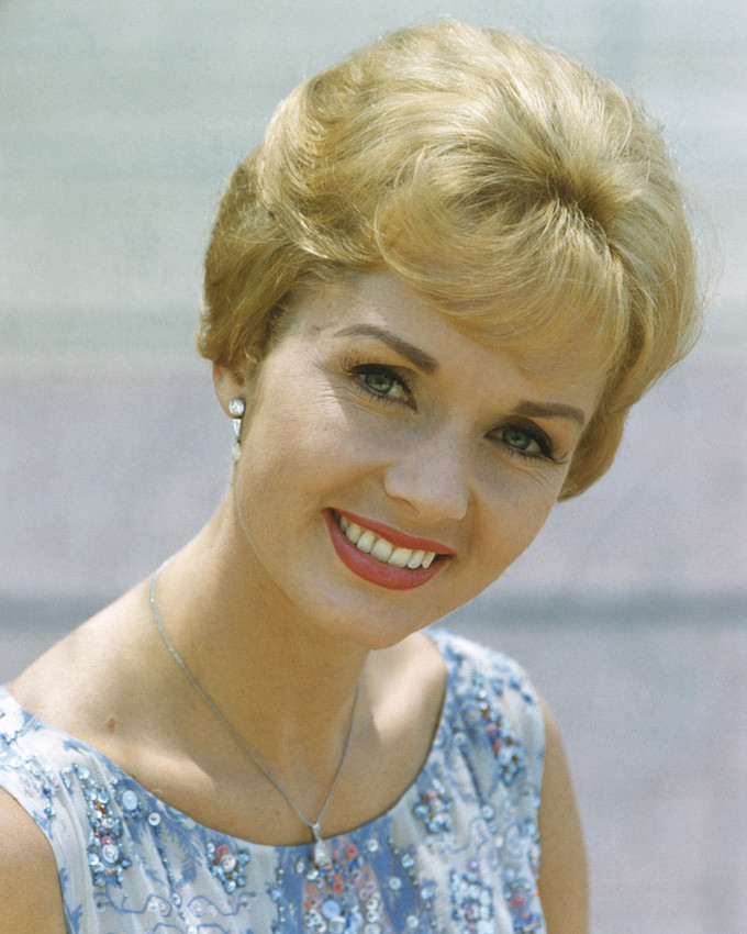 Primary image for Debbie Reynolds smiling portrait short hair print top 16x20 Canvas