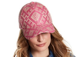 Magid Pattern Straw Womens Baseball Hat Fuchsia All Over Print Stocking ... - €24,31 EUR