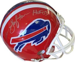 James Lofton signed Buffalo Bills Replica Mini Helmet HOF 03 (silver sig) - $67.95