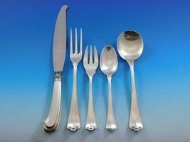 Saint St. Mark by Buccellati Italy Silver Flatware Set 8 Service 51 pcs ... - $8,995.00