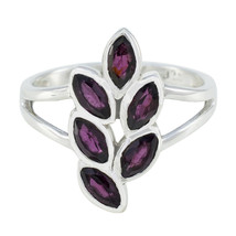 Classical Red 925 Sterling Silver Ring Weddings Rings UK - $22.04