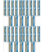 50 x Parker Quink Flow Ball Point Pen Refills BallPen Blue Medium New Se... - $66.99
