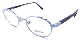 Starck Eyes Mikli Rx Eyeglasses Frames SH2013 0007 49x19 Light Blue/Blue... - $117.60