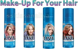 NEW by Schwarzkopf 120ml. LIVE Colors Sprays Hair Make-Up - $7.99