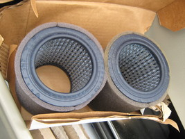 lot of 2 SOLBERG 19P, 1R417, 32012940, 110377E904, 00521-001 POLY FILTER... - $19.95
