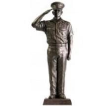 "US Navy COP NAVY  Salute 12"" Cold Cast Bronze Statue    - $98.99"