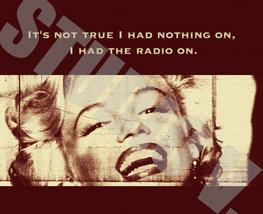 Digital Download Marilyn Monroe Poster Print Canvas Paper Fine Art Print... - $10.00