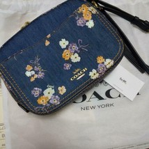 Japan limited coach camera bag denim - $395.62