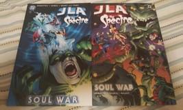 JLA/spectre: soul war #1 & 2 (complete mini-series) - $12.00