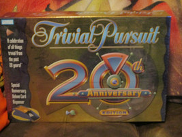 Trivial Pursuit 20th Anniversary Edition (2002) - $24.75