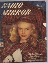 ORIGINAL Vintage March 1947 Radio Mirror Magazine Stella Dallas Anne Fra... - $18.51