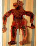 Indian shadow puppet marionette collectible historical piece 19th centur... - $581.88