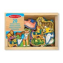 Melissa & Doug - 10475 - 20 Wooden Animal Magnets  - $20.00