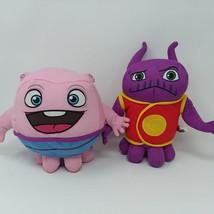 "Home Dreamworks Boov Captain Smek Alien 8"" Plush Stuffed Toy EUC Set - $23.16"