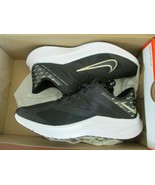 Brand New Nike Quest 3 PRM Womens Running Shoes, CV0149, Black/Mtlc Gold... - $74.25